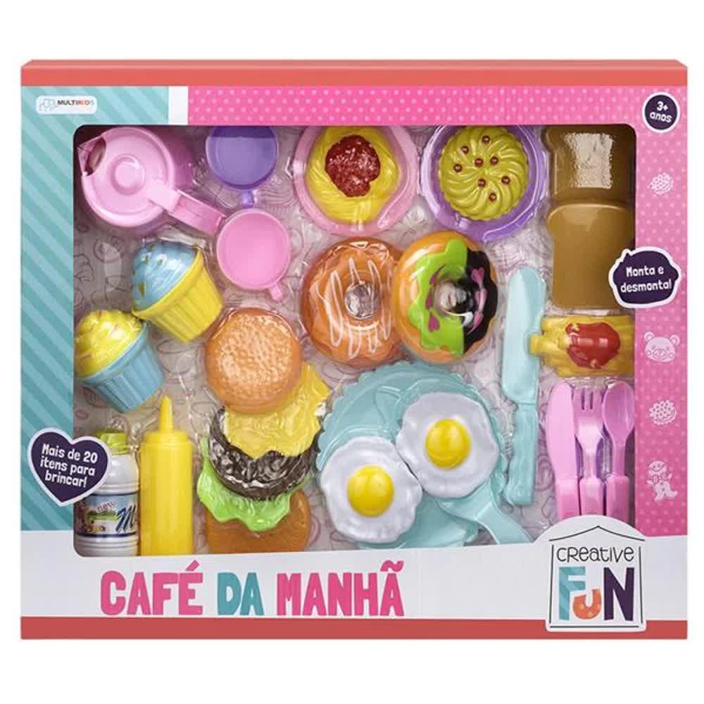 Creative Fun Café Da Manhã BR603 Multilaser