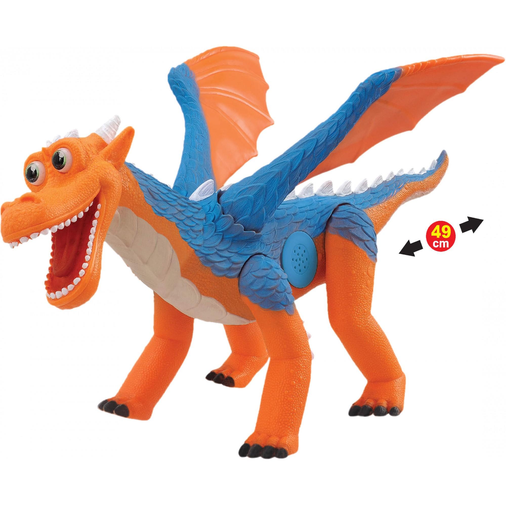 Dragão Dragon Um Novo Amigo Com Som 839 Adijomar