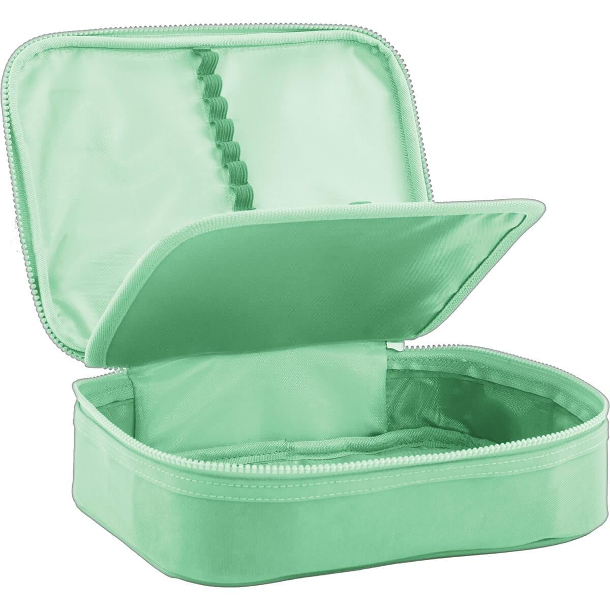 Estojo Box Académie Verde Tilibra