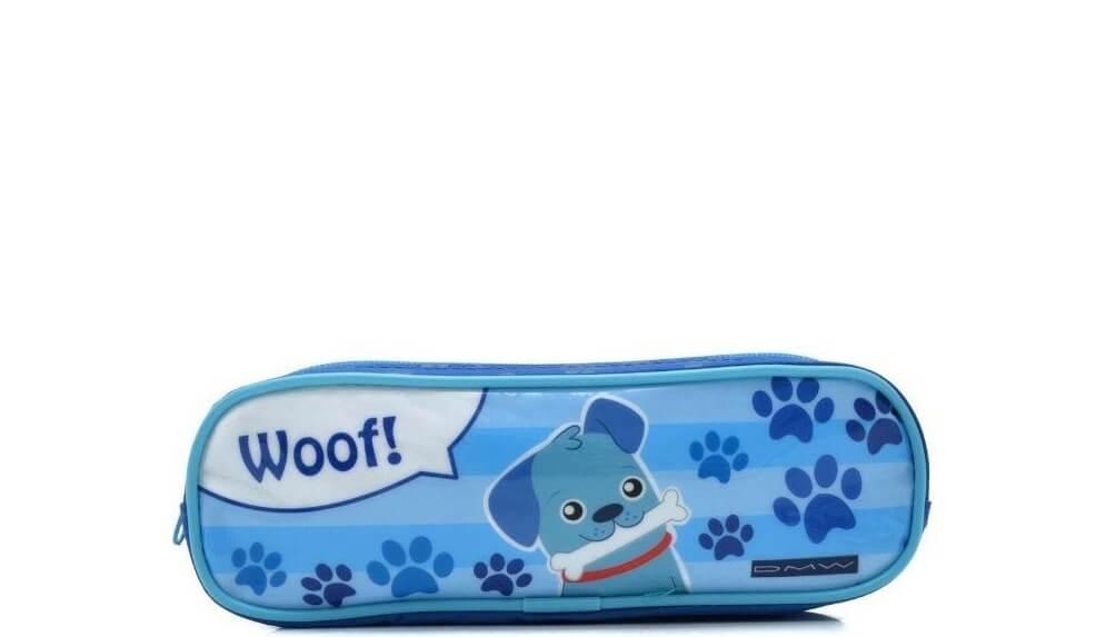 Estojo Soft 2 Divisorias Cachorrinho Woof 11426 Dmw