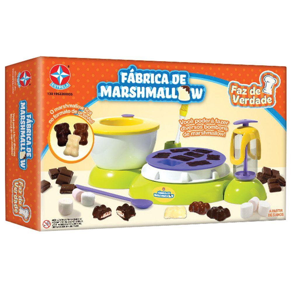 Fábrica De Marshmallow Faz De Verdade Estrela