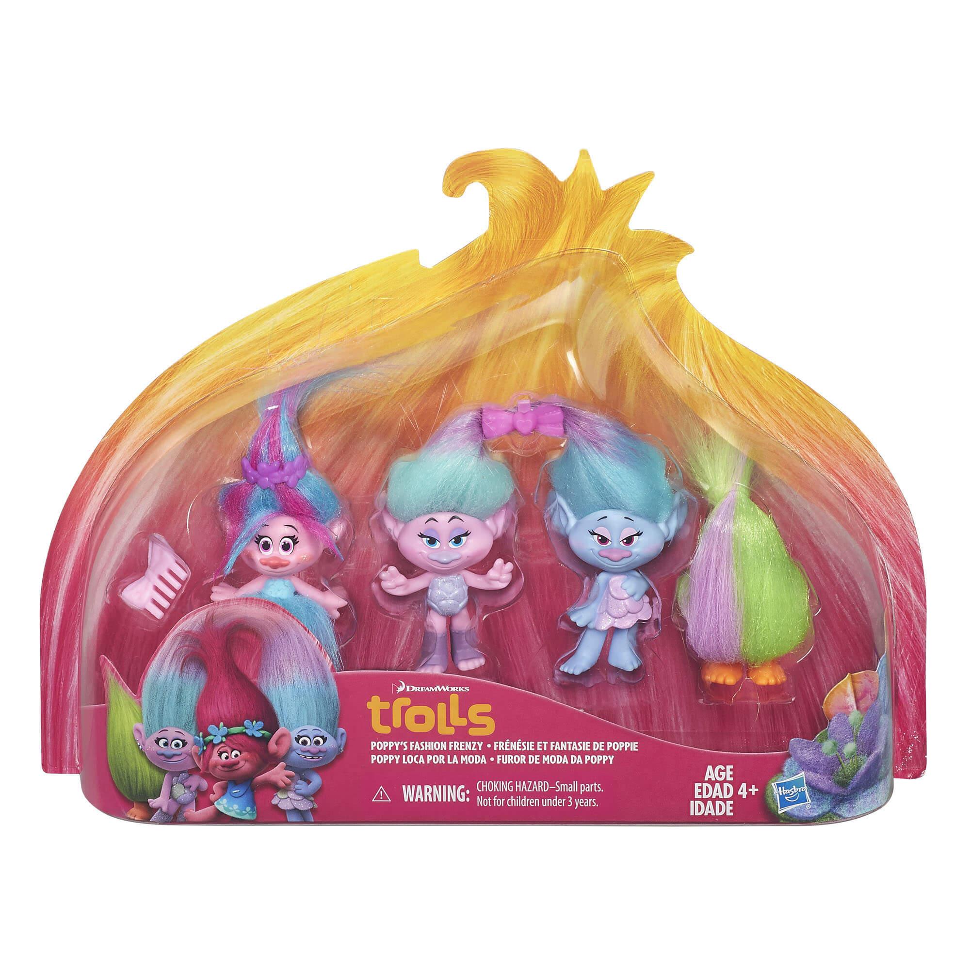 Figuras Trolls Furor De Moda Da Poppy B6557 Hasbro