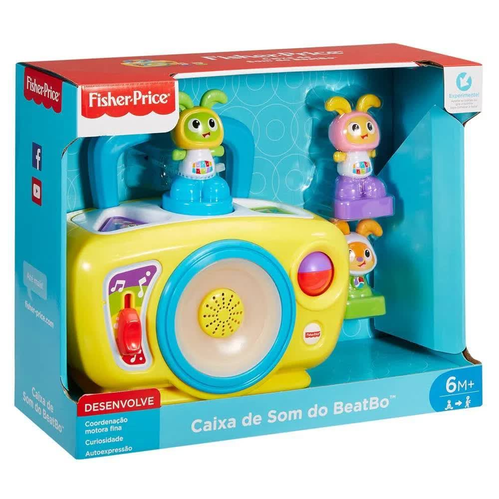 Fisher Price Caixa De Som Beatbo FHC85 Mattel
