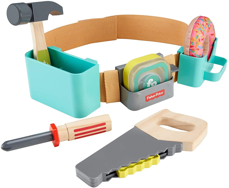 Fisher Price Cinto De Ferramentas Divertidas GGT60 Mattel