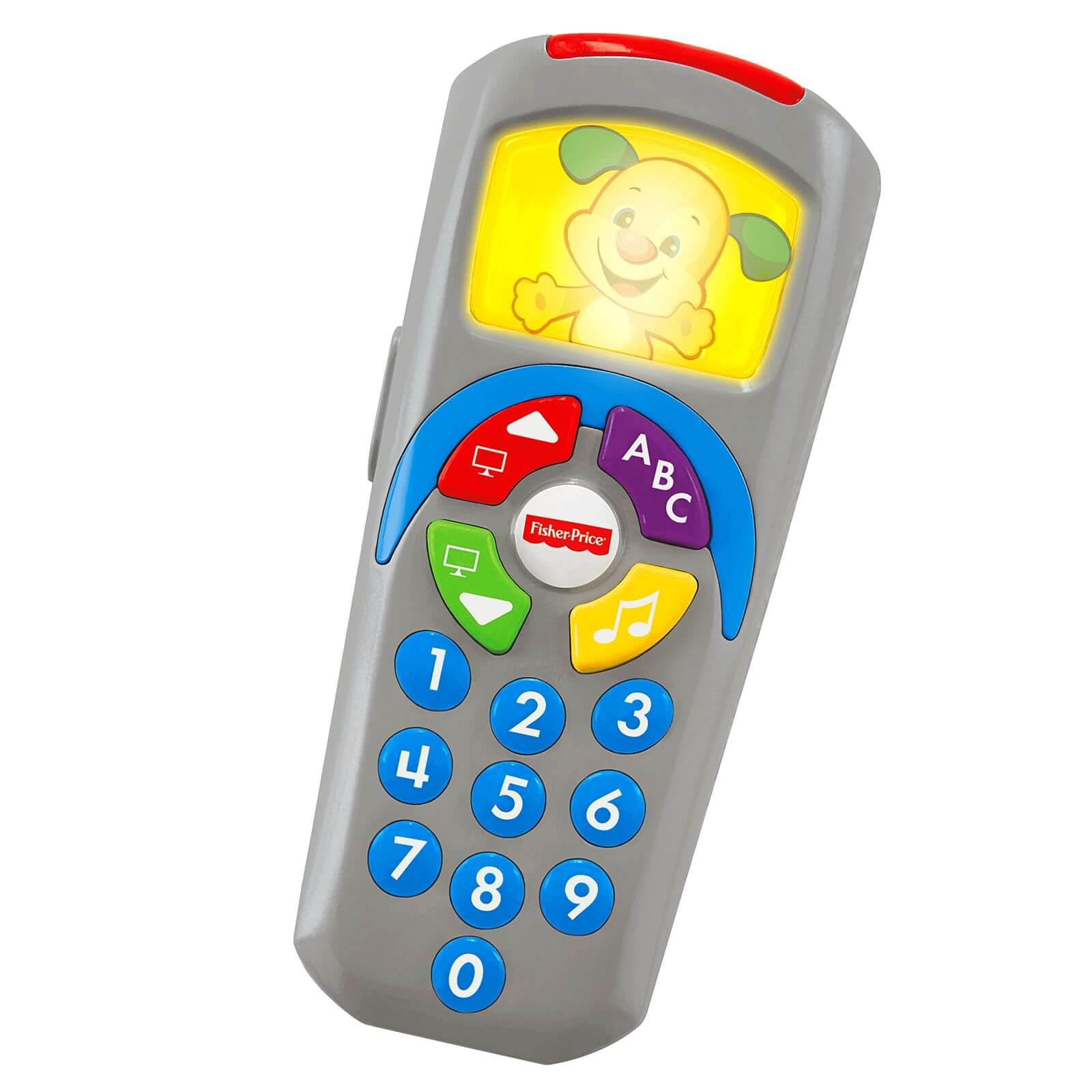 Fisher Price Controle Remoto Infantil Aprender E Brincar DLH40 Mattel