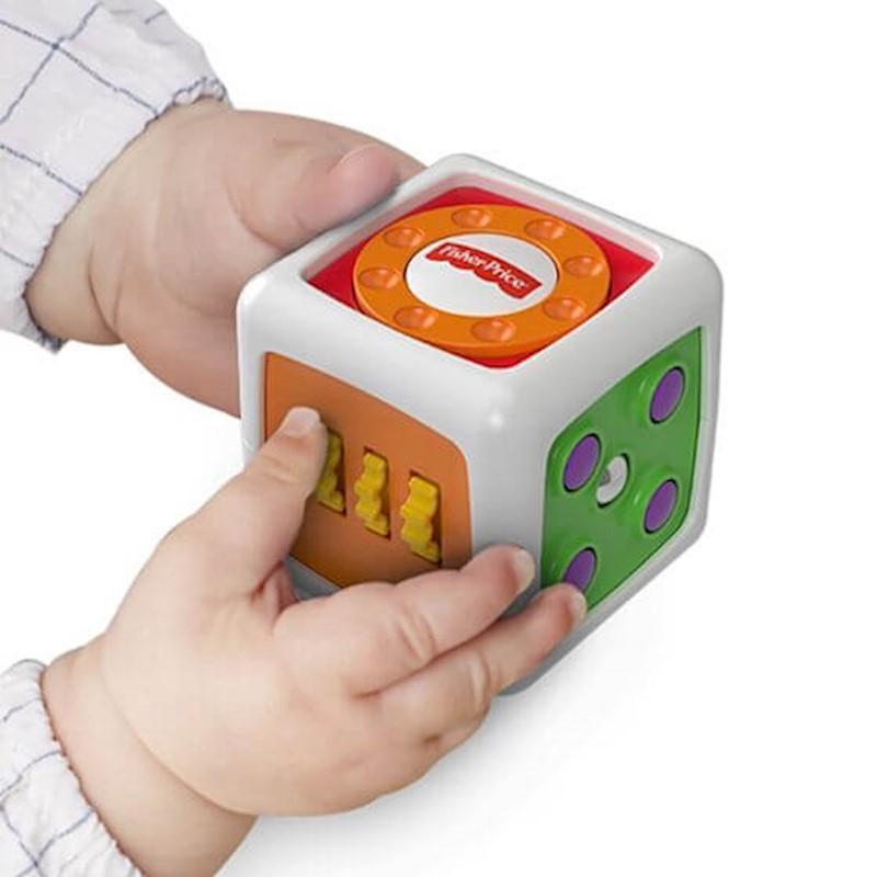 Fisher Price Meu Primeiro Cubo De Inquietação FWP34 Mattel