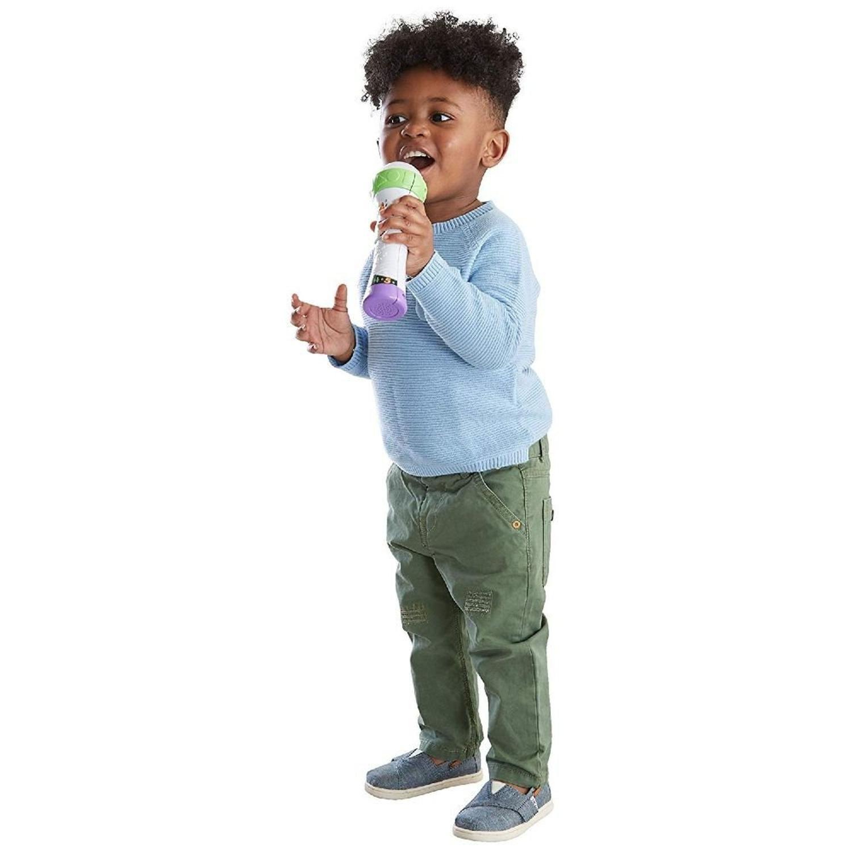 Fisher Price Microfone Aprender E Brincar FBR74 Mattel