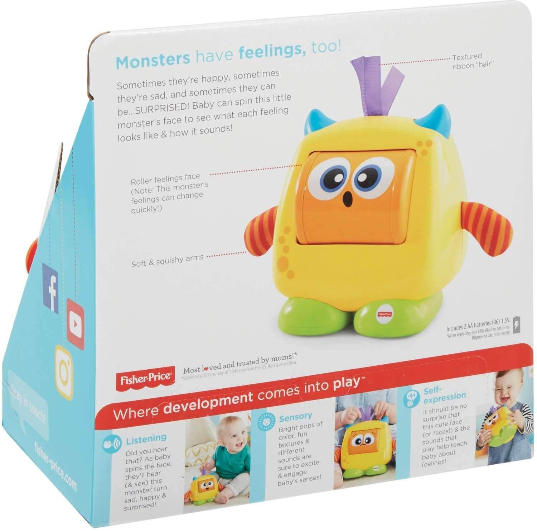 Fisher Price Monstro Carinha Surpresa FFC30 Mattel