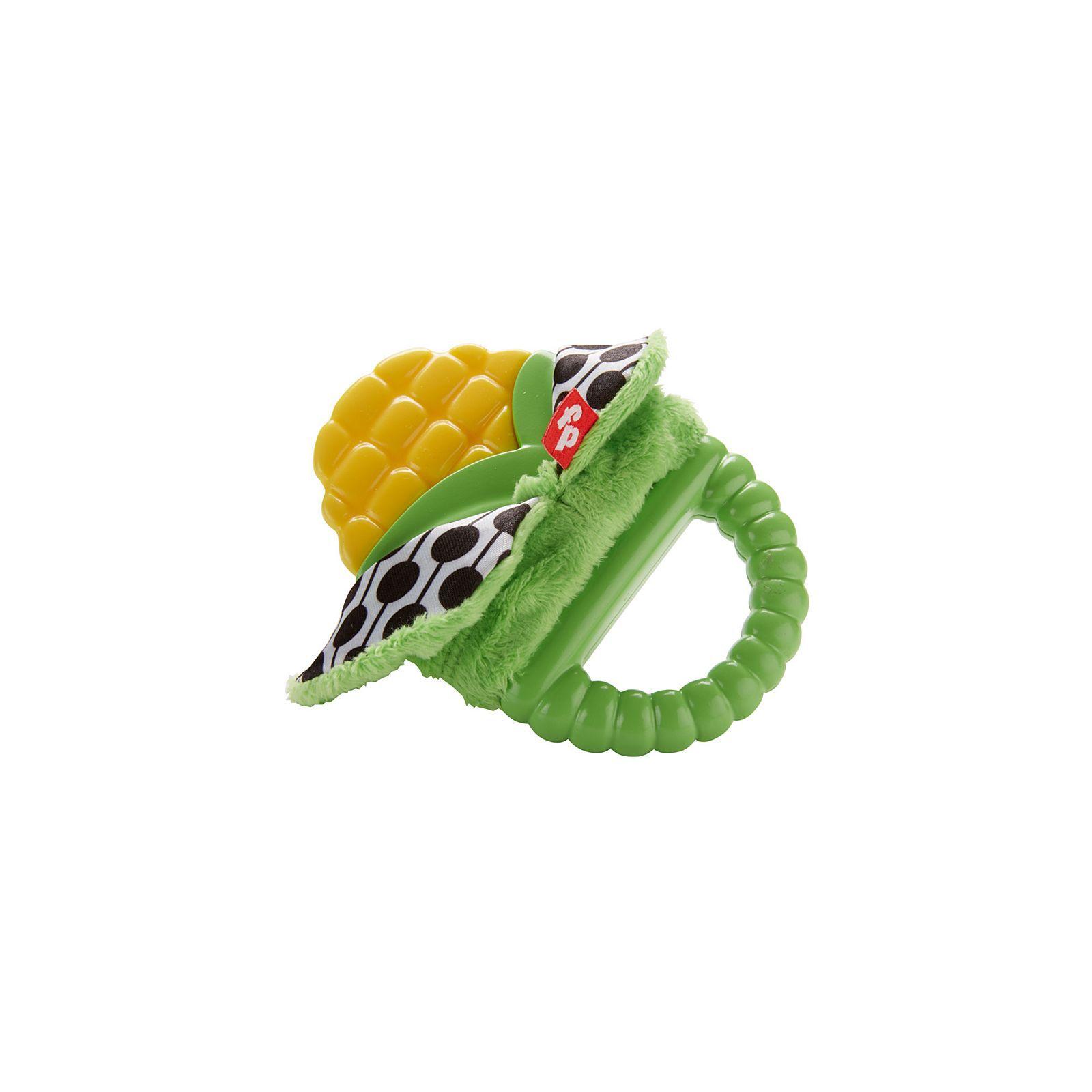 Fisher Price Mordedor De Silicone Milho Verde DRD85 Mattel