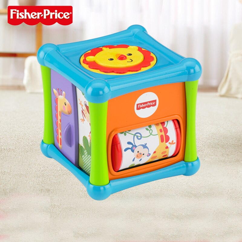Fisher Price Super Cubo De Atividades BFH80 Mattel