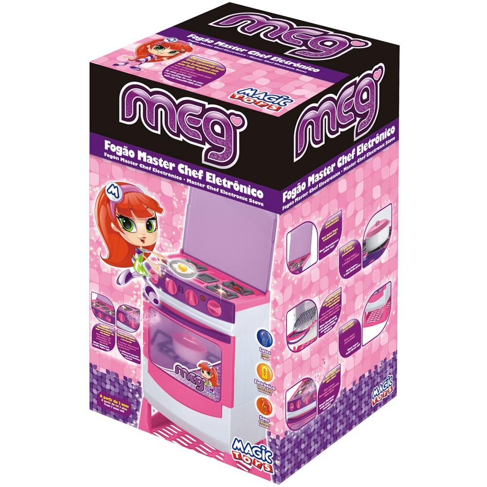 Fogão Master Chef Elétrico 8014 Magic Toys