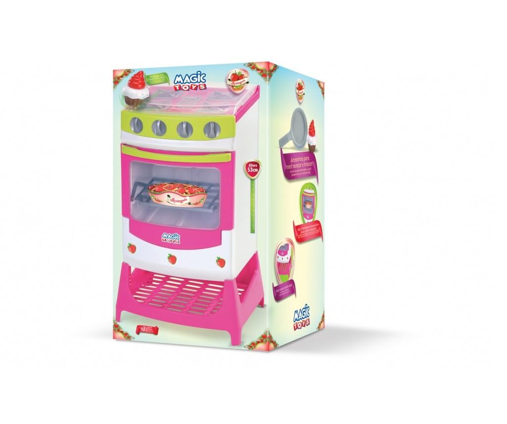 Fogão Moranguita 8024 Magic Toys