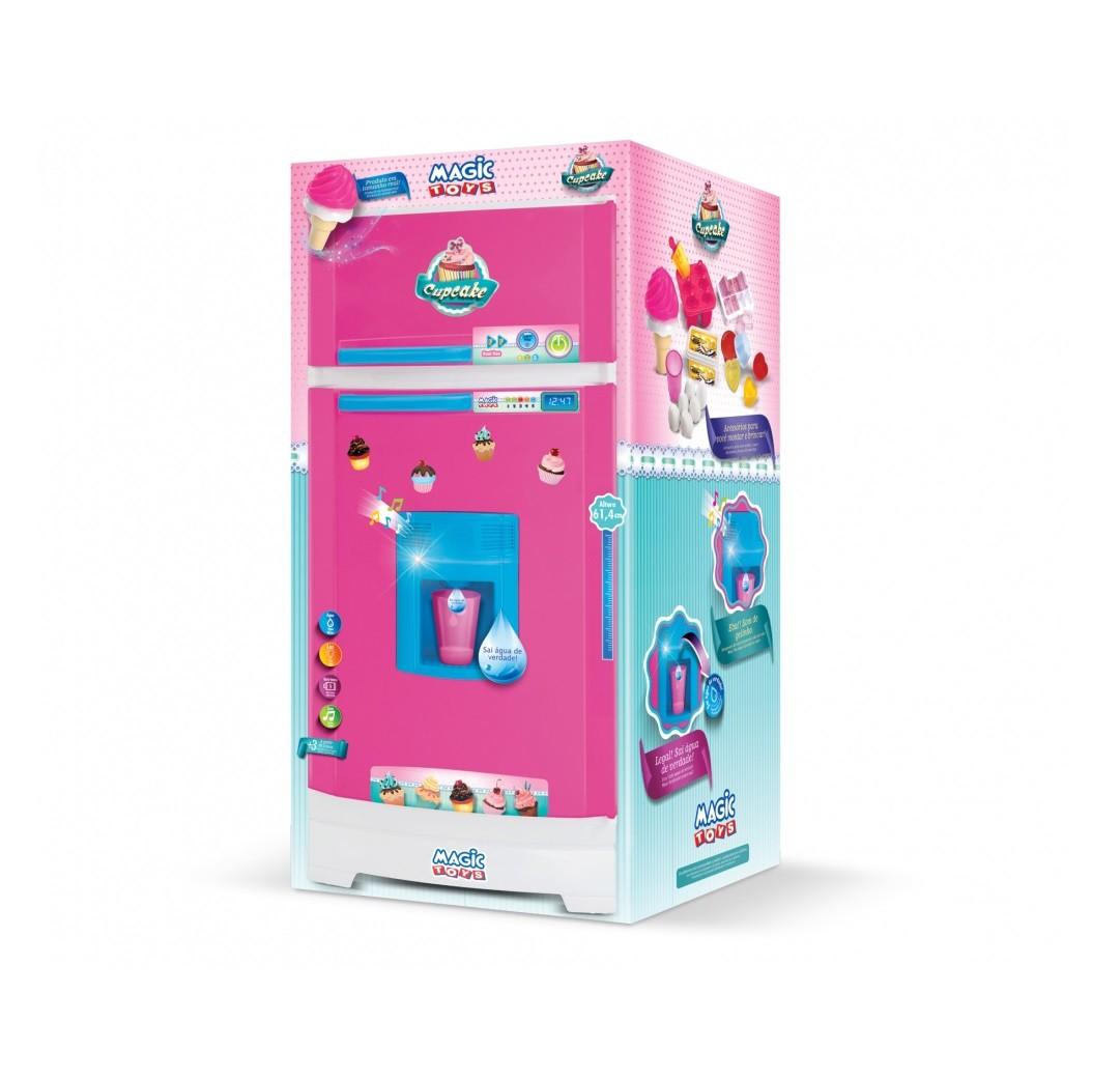 Geladeira Cupcake 8055 Magic Toys