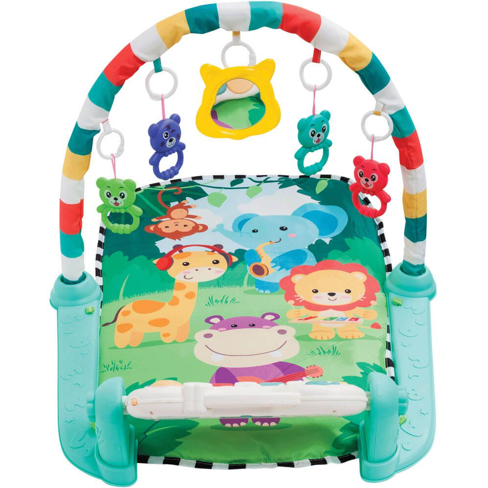 Ginásio De Atividades Com Piano Safari 11393 Buba