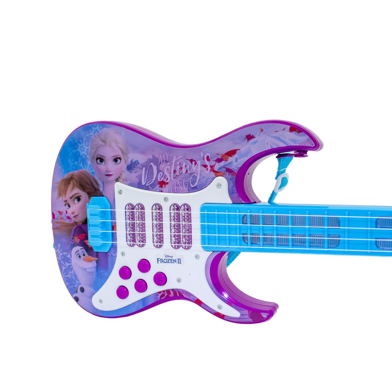 Guitarra Elétrica Infantil Frozen 2 Com Som E Luz Toyng