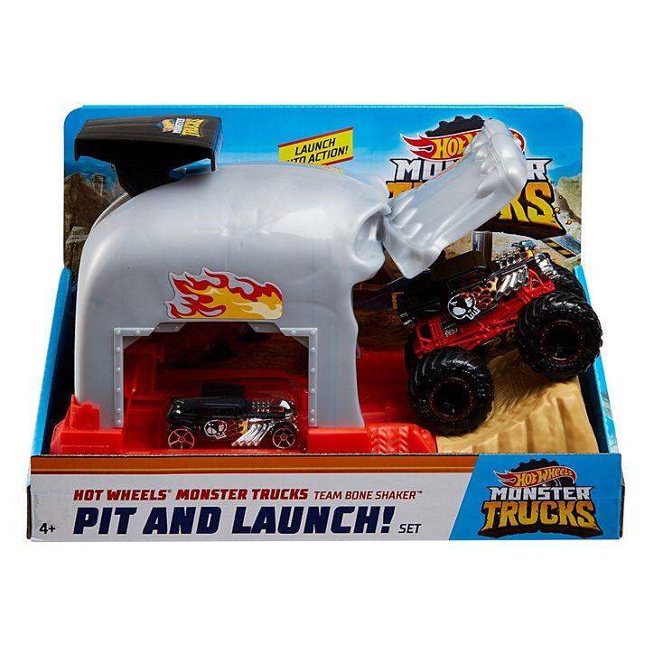 Hot Wheels Monster Trucks Lançadores Radicais GKY01 Mattel