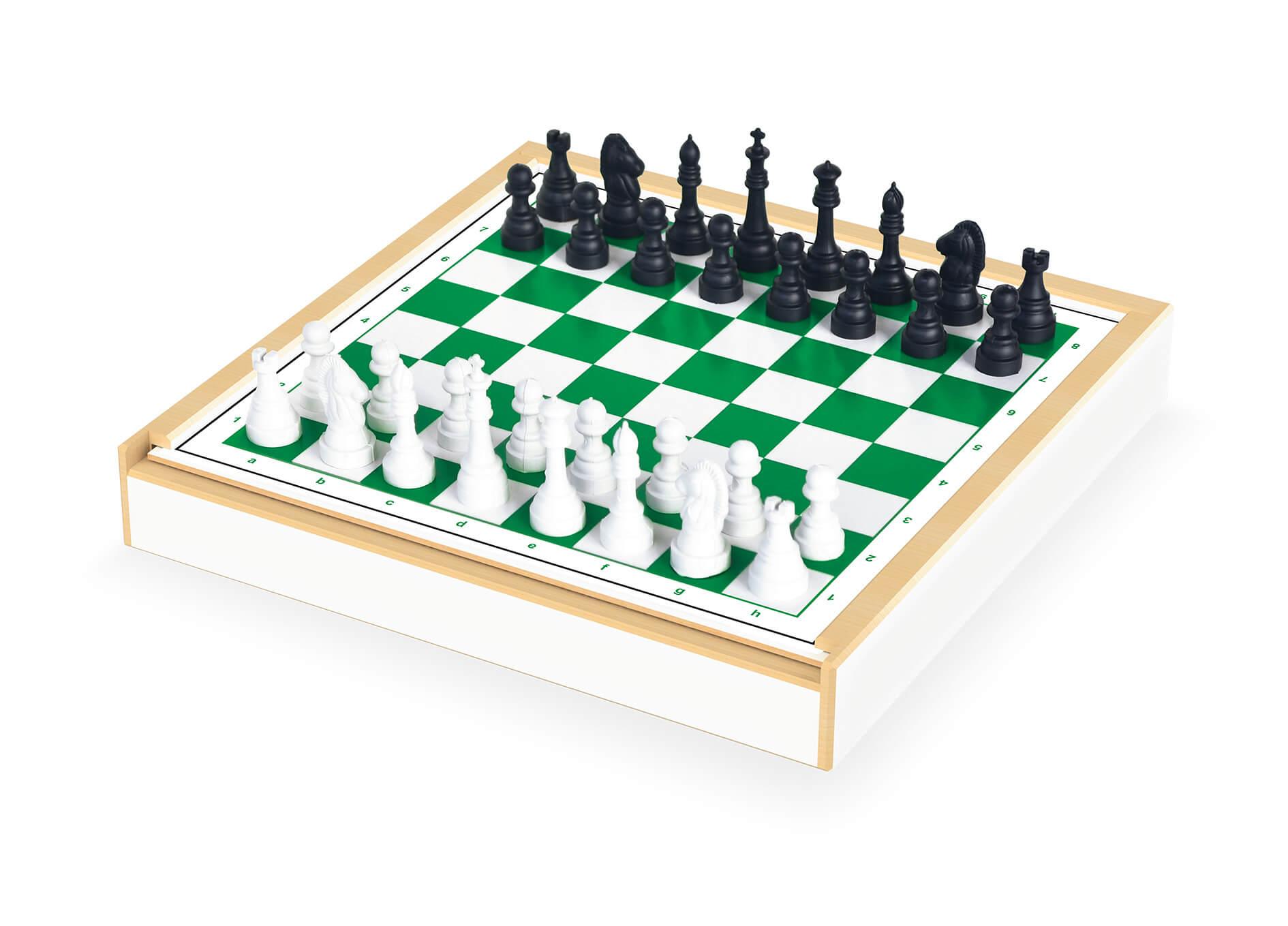 Jogo 6 Em 1 Xadrez Damas Trilha Ludo Varetas E Domino Junges