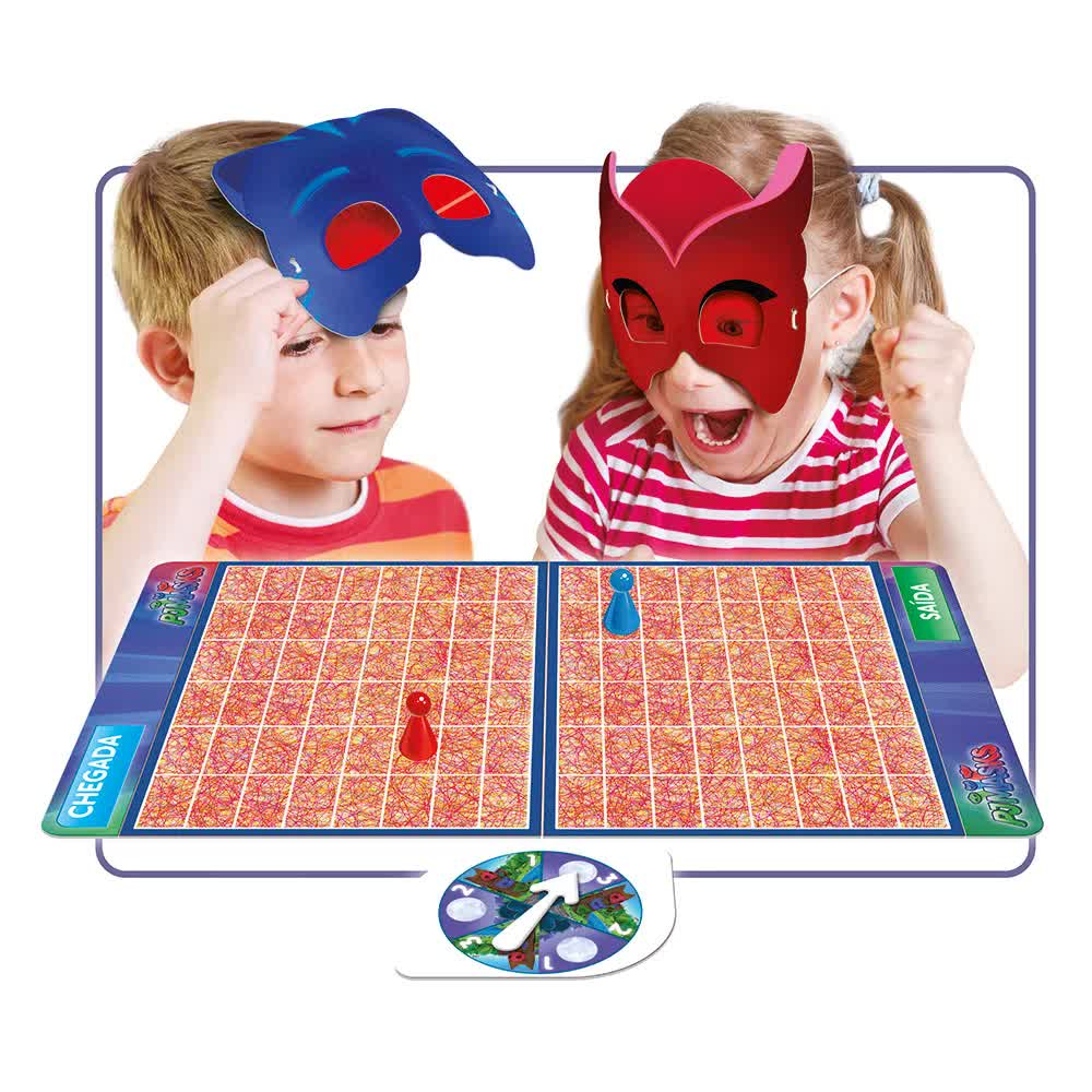 Jogo Armadilha Invisível Pj Masks 03524 Grow