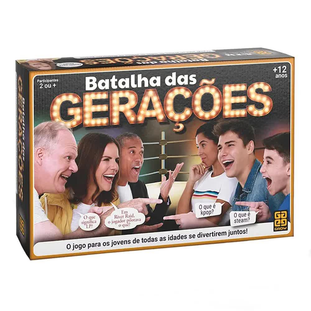Jogo Batalha Das Gerações 3583 Grow