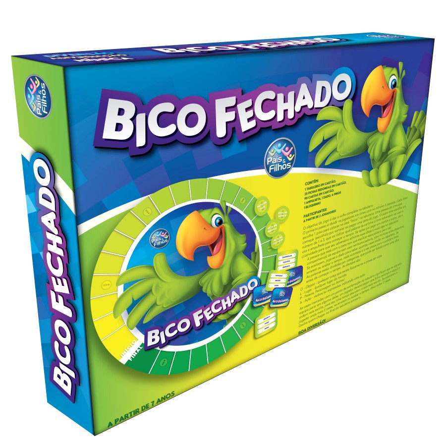 Jogo Bico Fechado 7358 Pais E Filhos