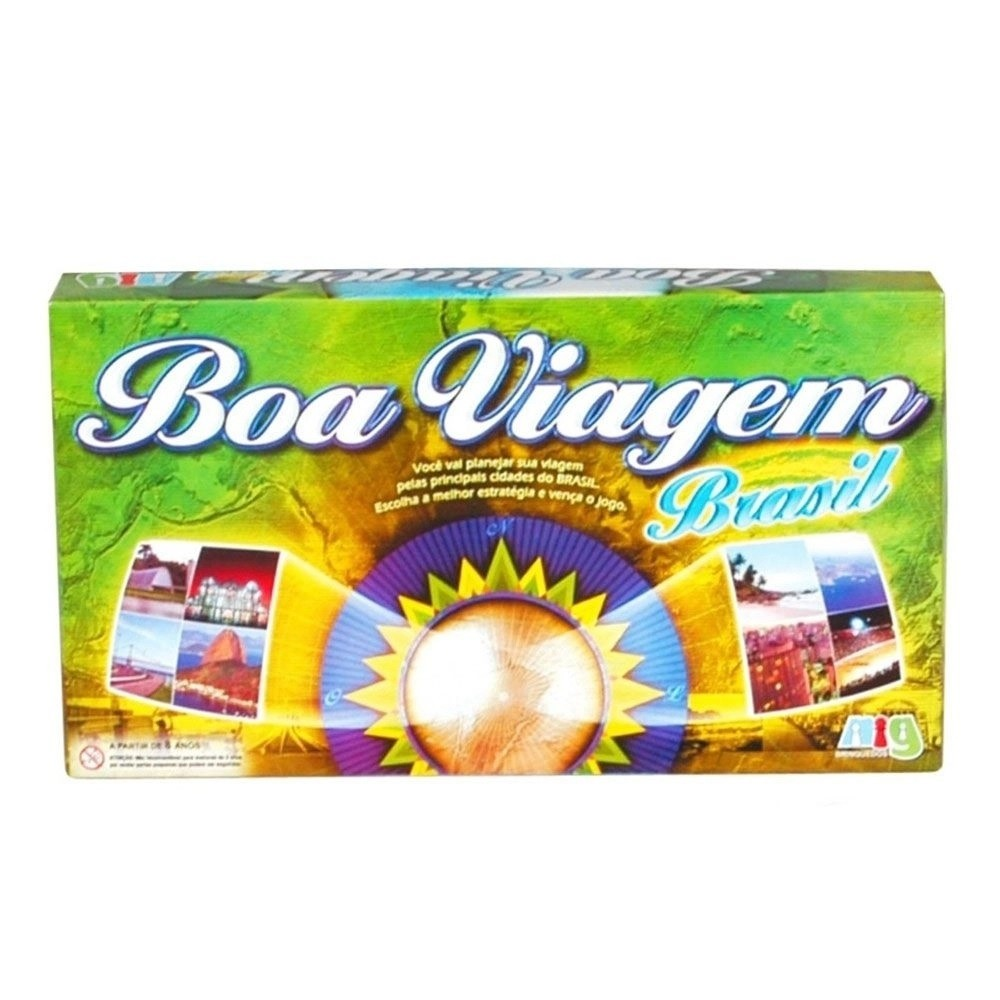Jogo Boa Viagem Brasil 1105 Nig