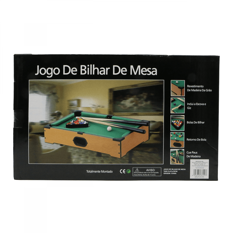Jogo De Bilhar Mesa De Sinuca ZJFQ0002 Brilho De Diamante