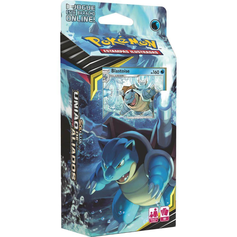 Jogo de Cartas Deck Pokemon Sol e Lua 9  Copag
