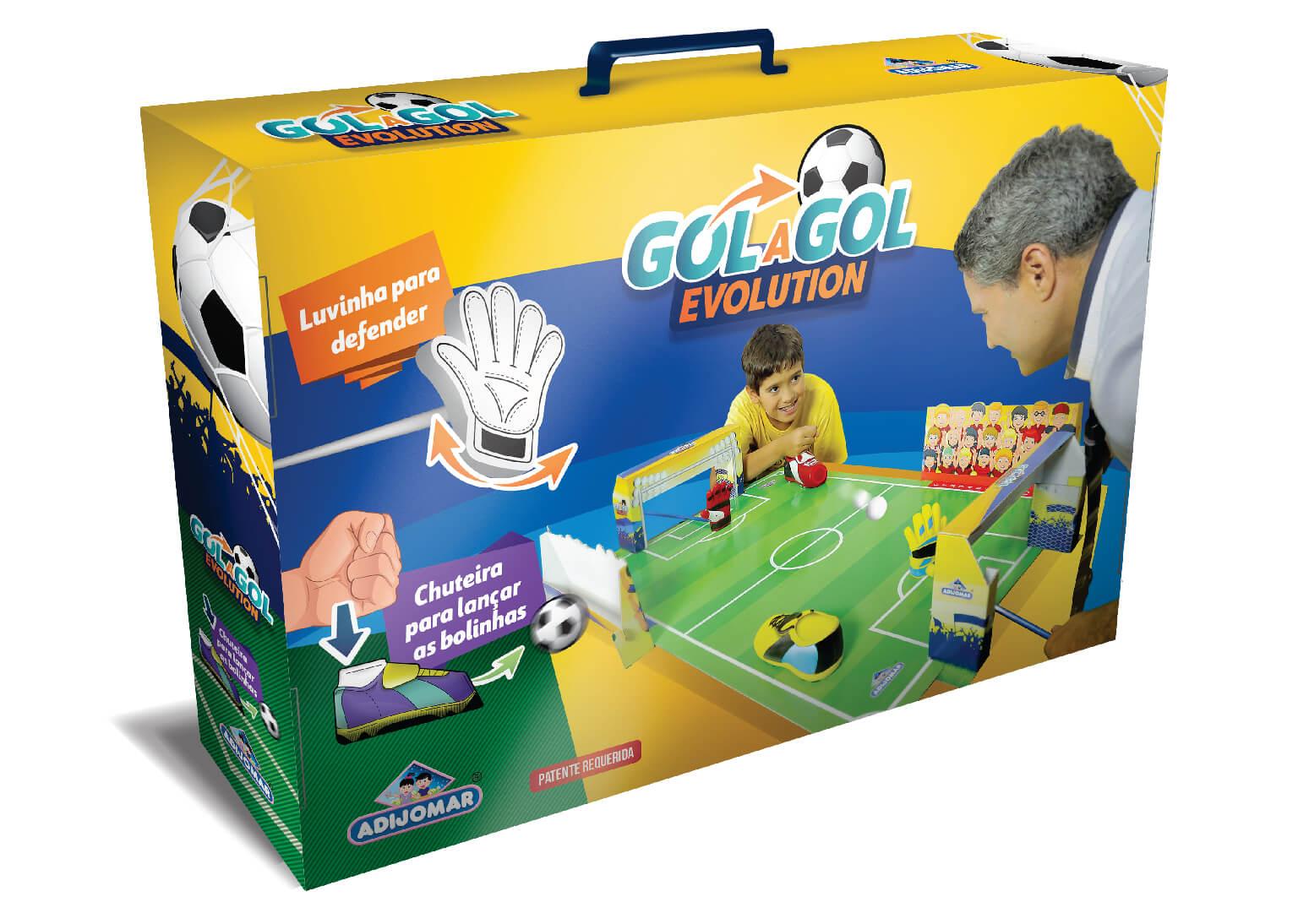 Jogo De Futebol Gol A Gol Evolution 845 Adijomar