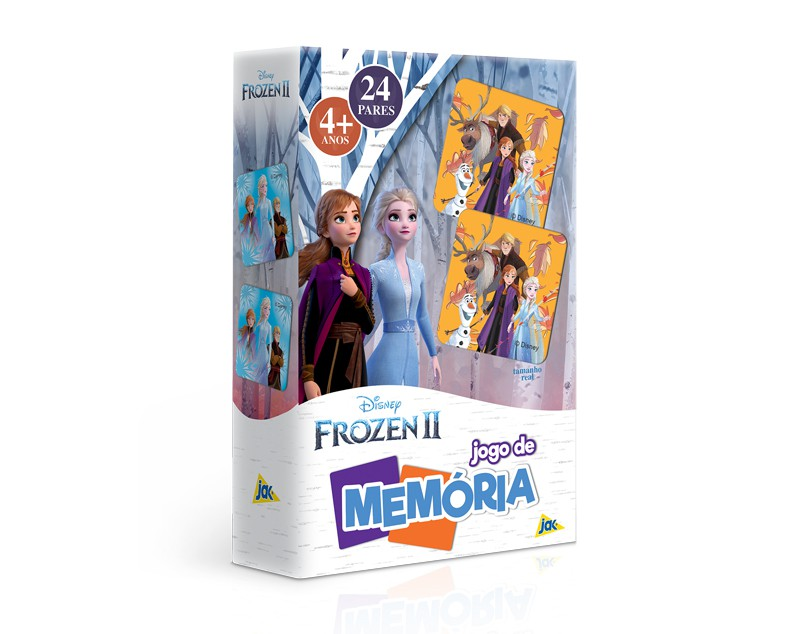 Jogo De Memória Frozen 2 24 Pares 2670 Toyster