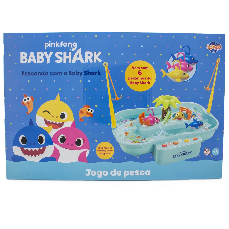 Jogo De Pesca Baby Shark Com Música Toyng