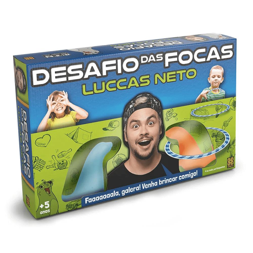 Jogo Desafio Das Focas Luccas Neto 3639 Grow