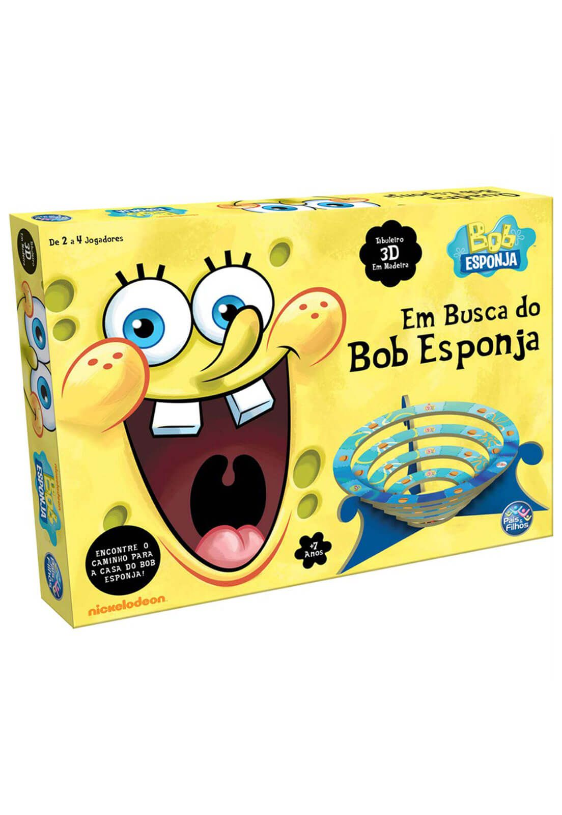 Jogo Em Busca Do Bob Esponja Pais E Filhos