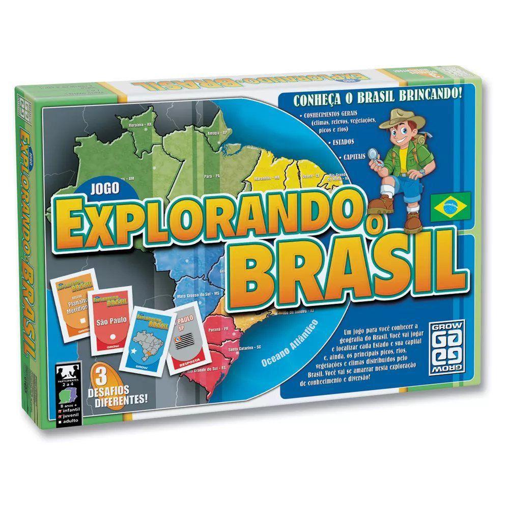 Jogo Explorando O Brasil 01658 Grow