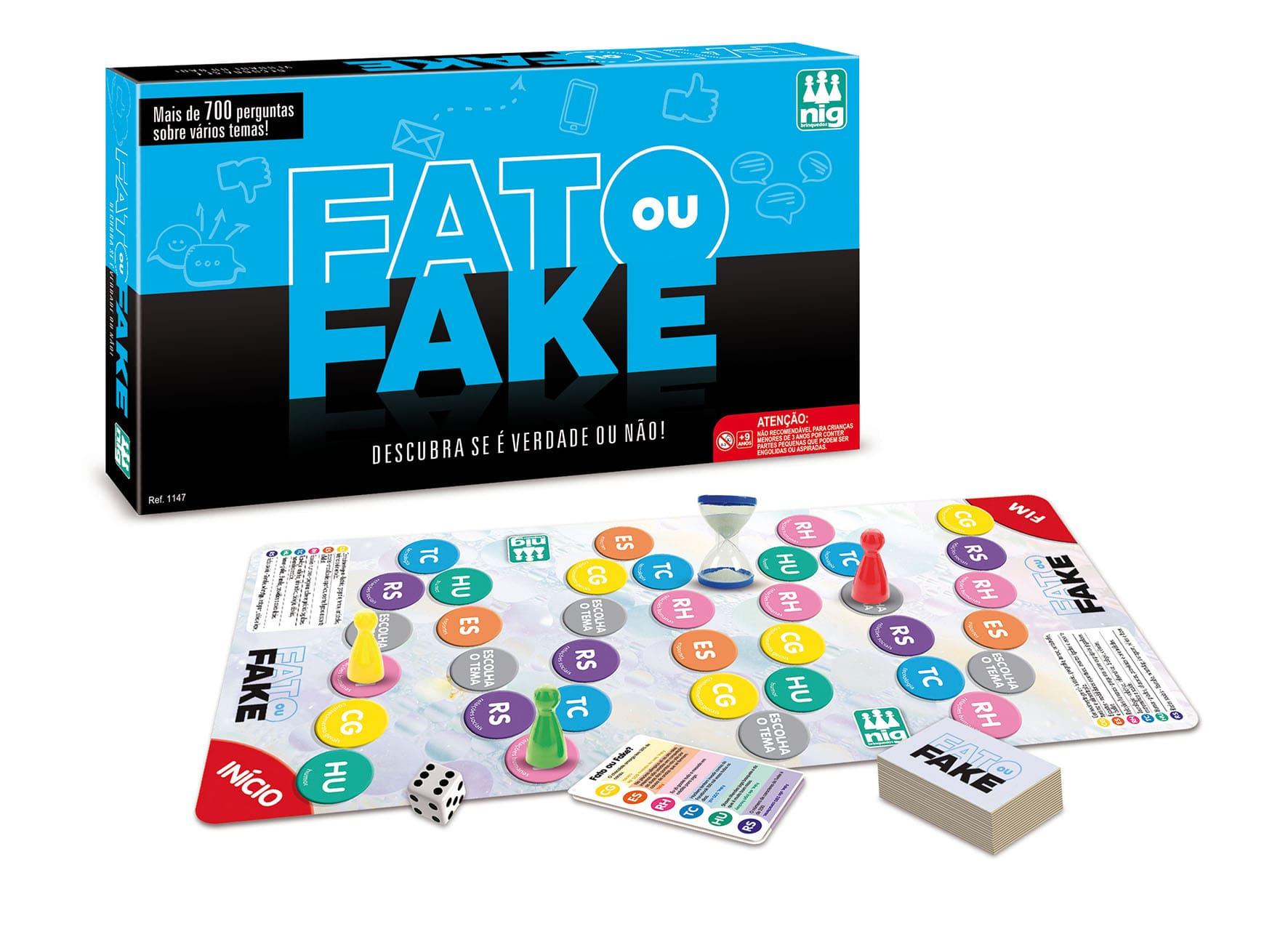 Jogo Fato Ou Fake 1147 Nig