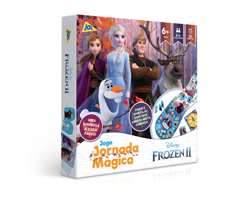 Jogo Jornada Mágica Frozen 2 2672 Toyster