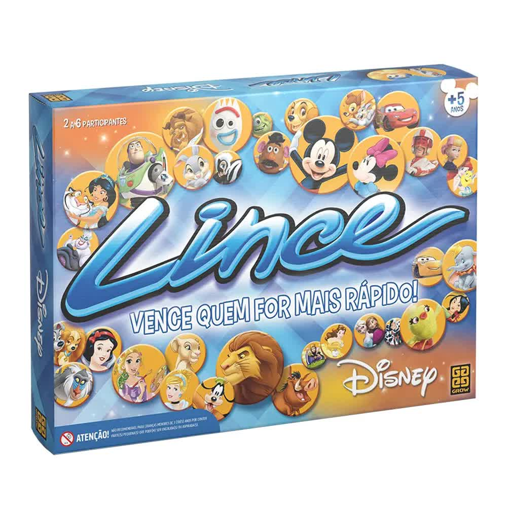 Jogo Lince Disney 2393 Grow