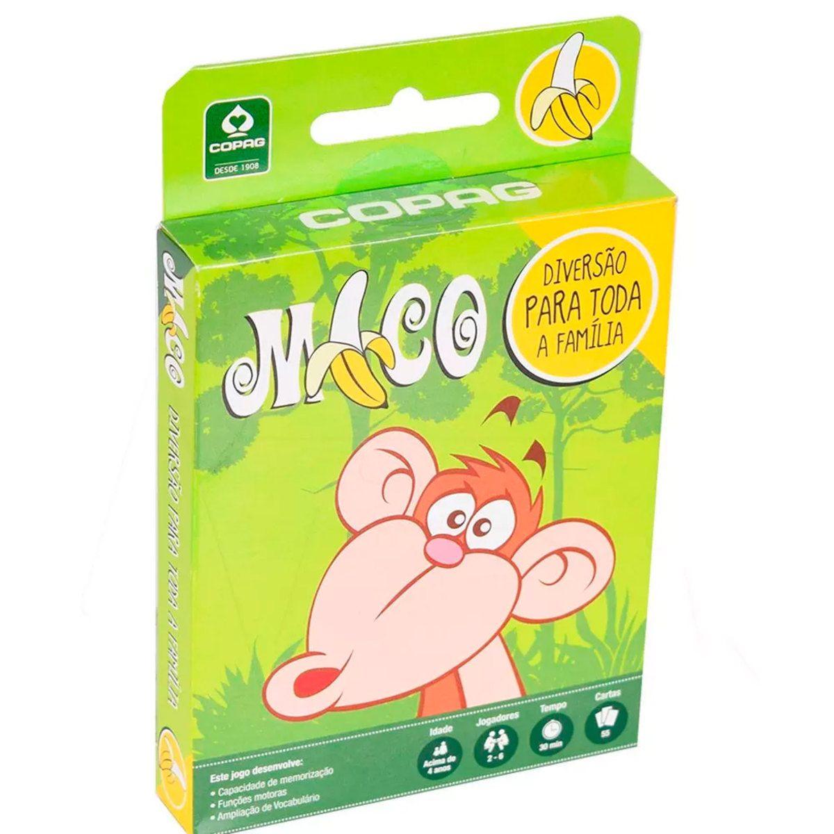 Jogo Mico Com 55 Cartas Copag