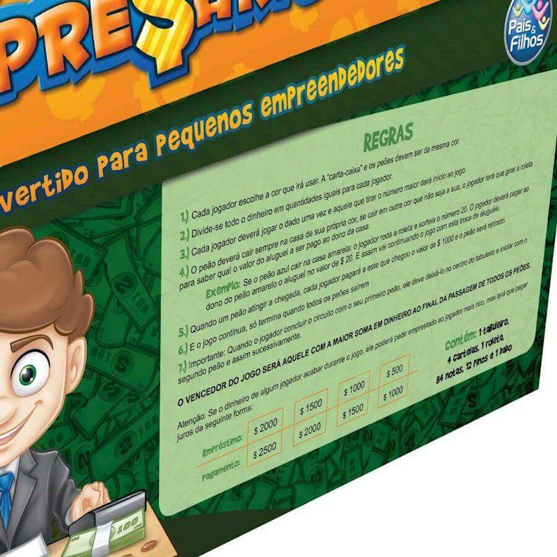Jogo Pequeno Empresario 2796 Pais E Filhos