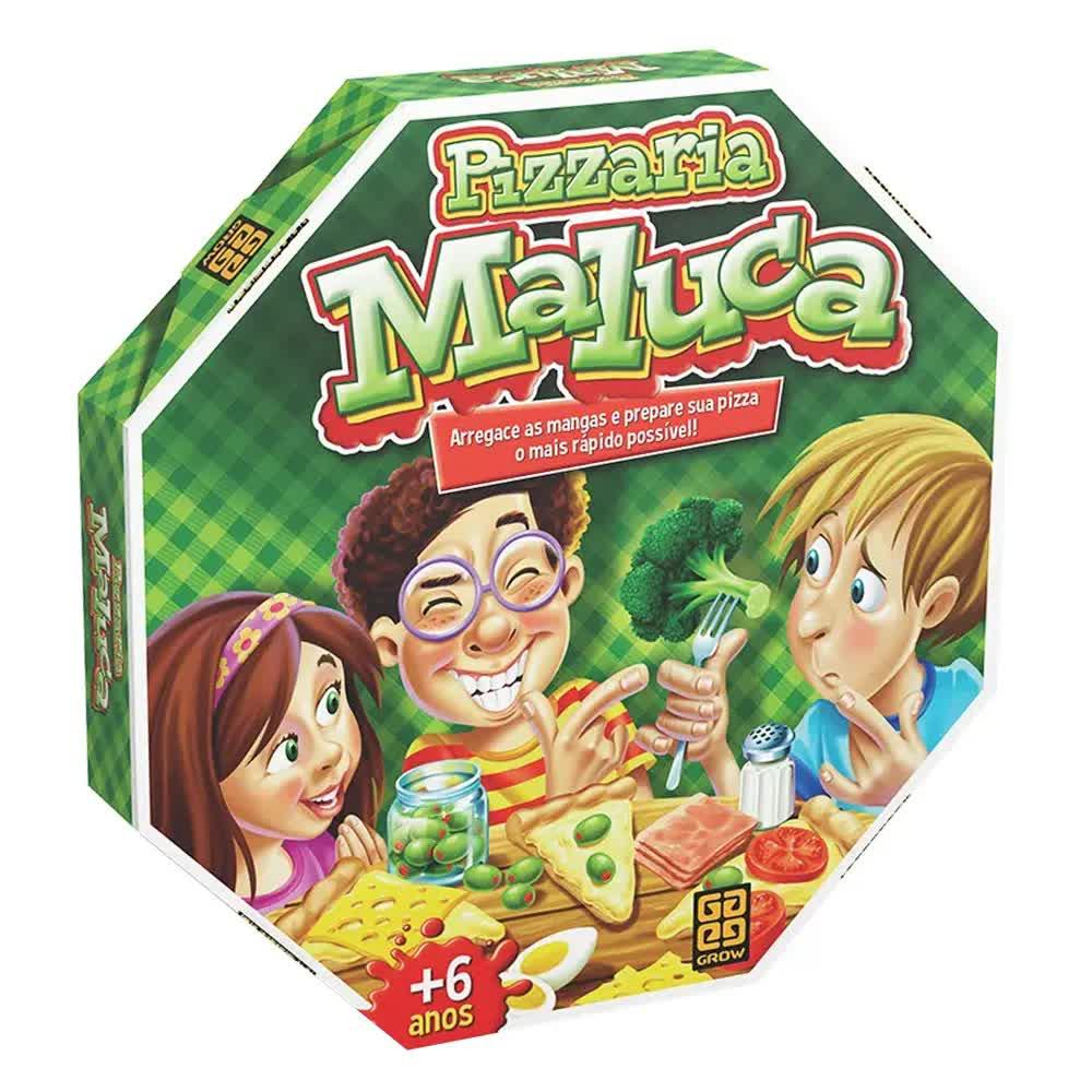 Jogo Pizzaria Maluca 01283 Grow