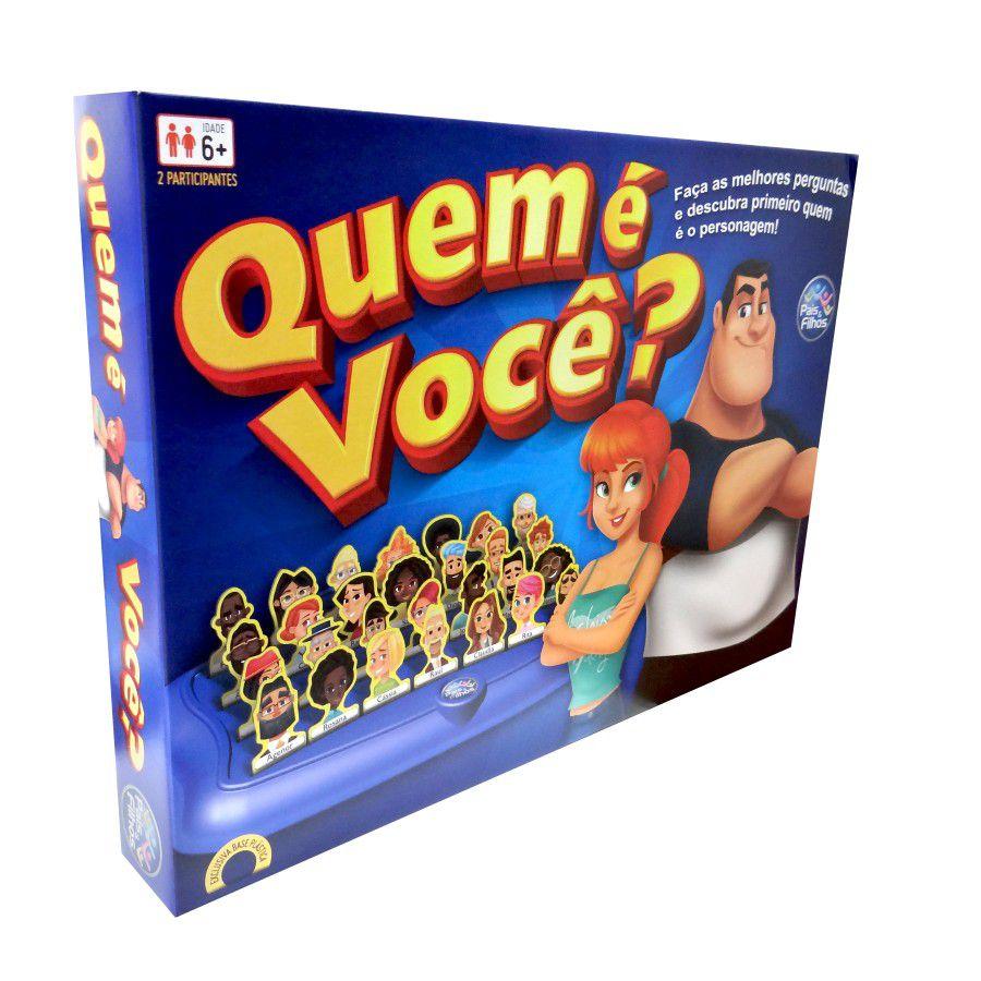 Jogo Quem E Voce Top Line 7281 Pais E Filhos