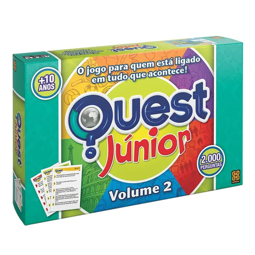 Jogo Quest Junior Volume 2 Grow