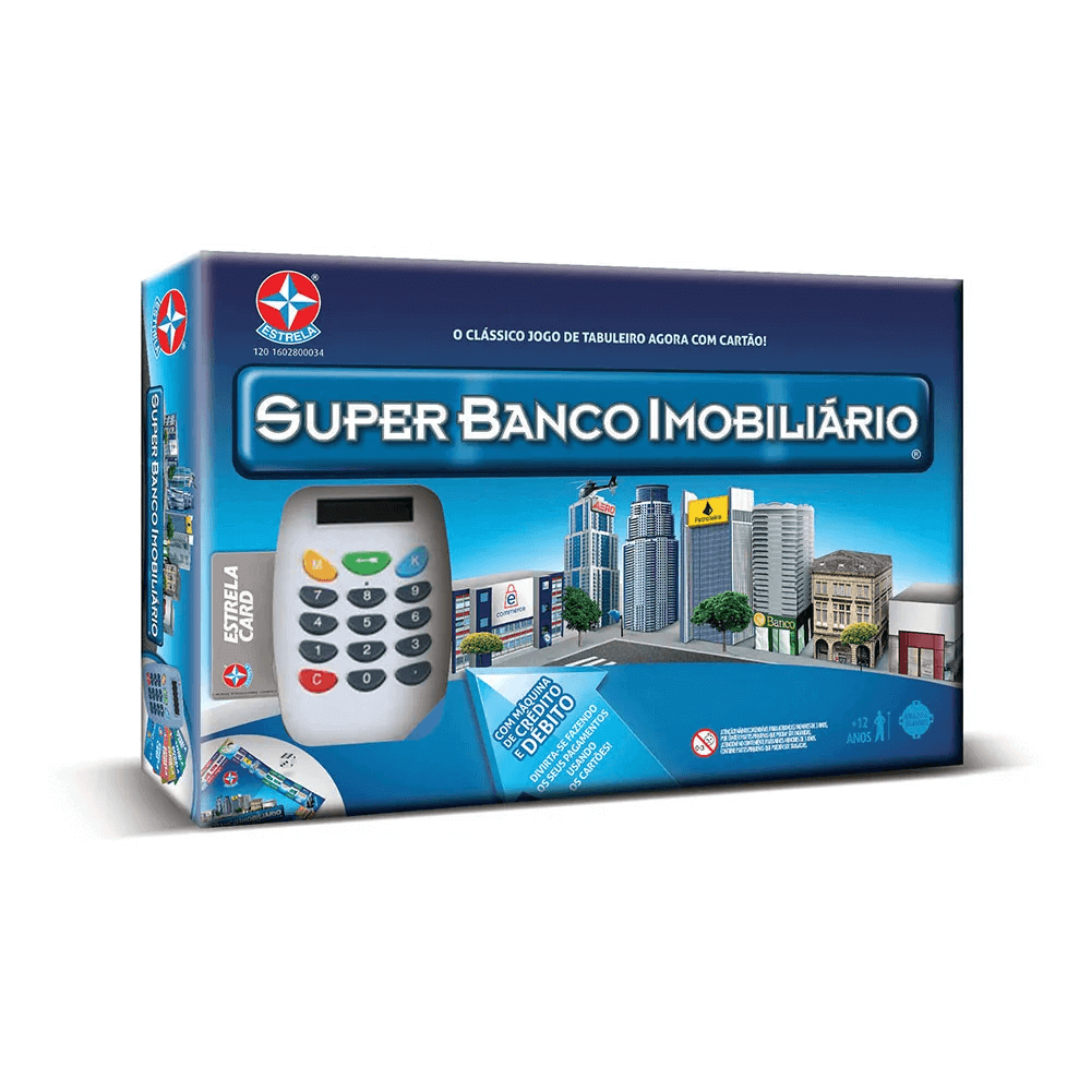 Jogo Super Banco Imobiliario Estrela