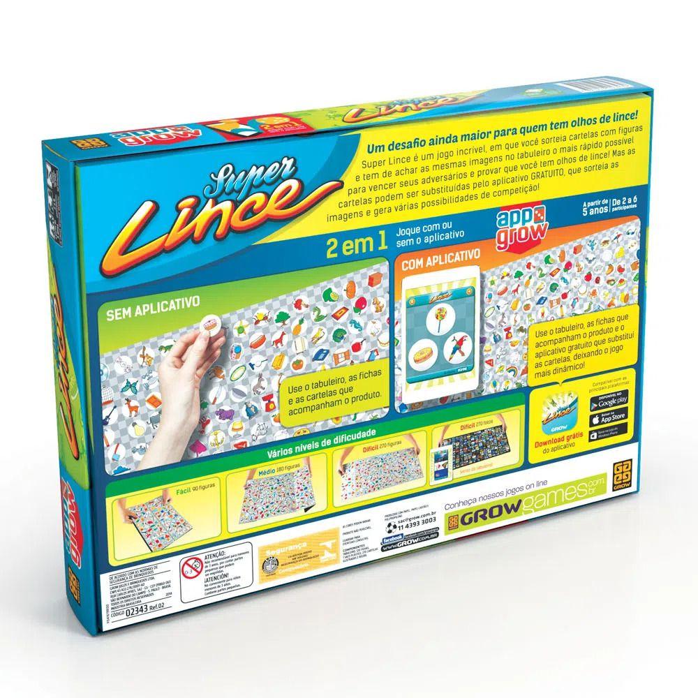 Jogo Super Lince App 2343 Grow