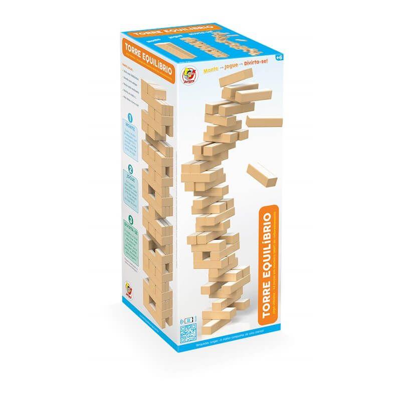 Jogo Torre Equilibrio Com 54 Peças 735 Junges