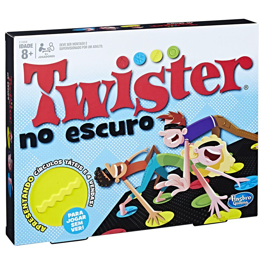 Jogo Twister No Escuro E1888 Hasbro