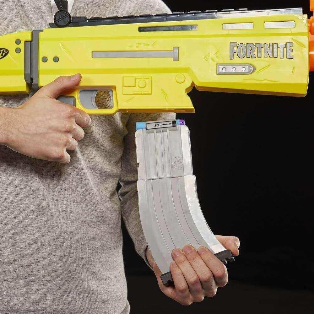 Lançador Nerf Fortnite AR-L Lançamento Motorizado E7061 Hasbro