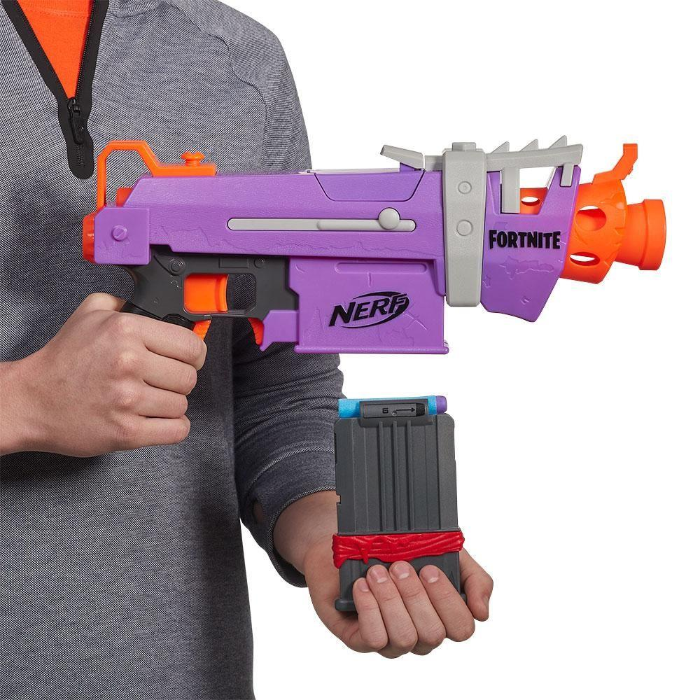 Lançador Nerf Fortnite SMG-E E7523 Hasbro
