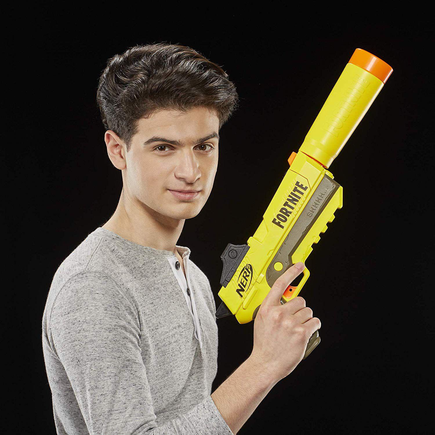 Lançador Nerf Fortnite Sneaky Springer Fall E7063 Hasbro