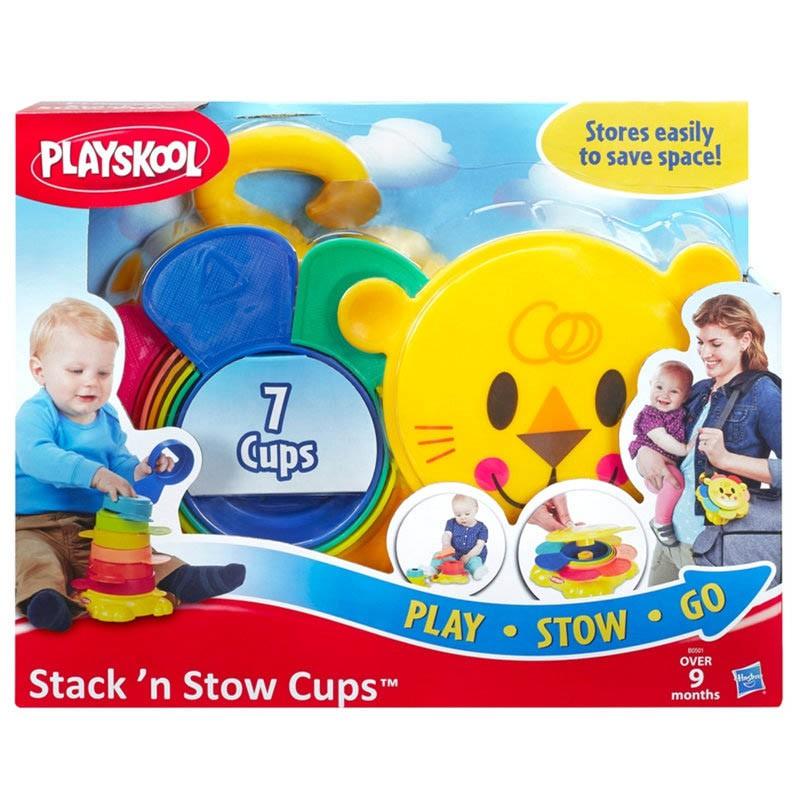 Leãozinho De Encaixar E Empilhar B0501 Playskool Hasbro