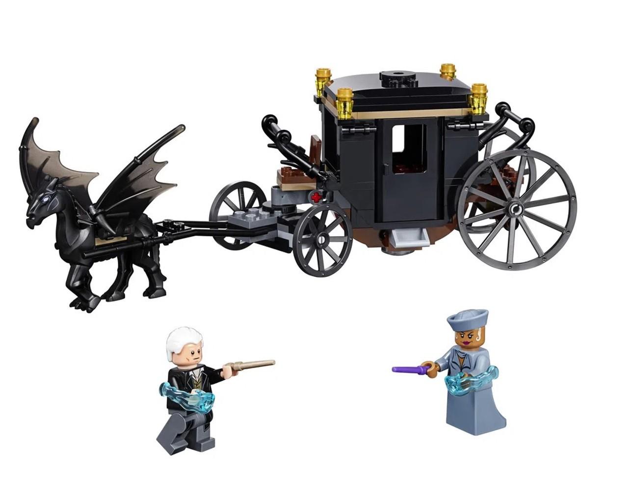 Lego Animais Fantásticos Fuga De Grindelwald 132 Peças 75951